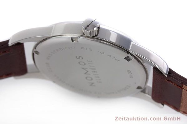 Used luxury watch Nomos Club steel manual winding Kal. Alpha  | 160523 11