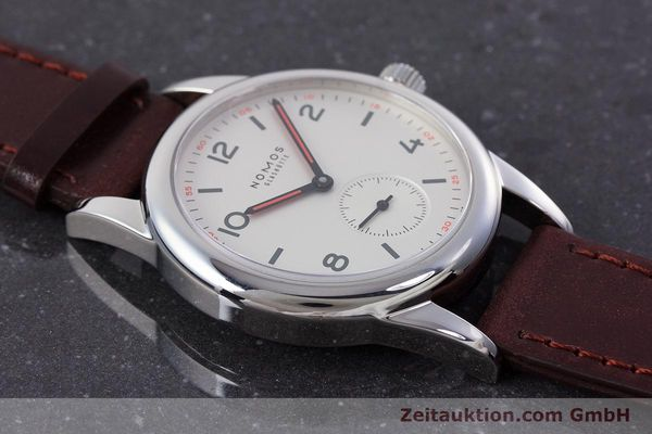 Used luxury watch Nomos Club steel manual winding Kal. Alpha  | 160523 15
