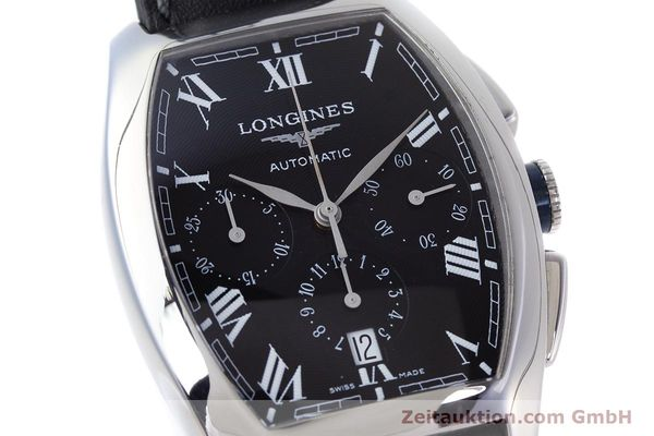 Used luxury watch Longines Evidenza chronograph steel automatic Kal. L650.2 ETA 2894-2 Ref. L2.643.4  | 160540 02