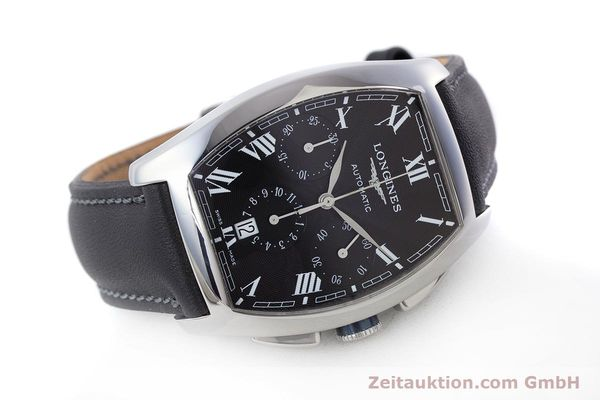 Used luxury watch Longines Evidenza chronograph steel automatic Kal. L650.2 ETA 2894-2 Ref. L2.643.4  | 160540 03