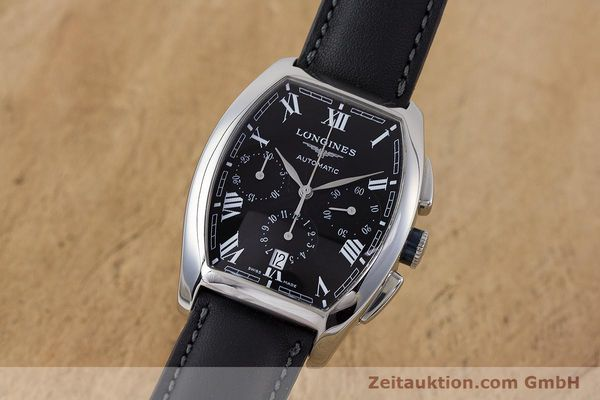 Used luxury watch Longines Evidenza chronograph steel automatic Kal. L650.2 ETA 2894-2 Ref. L2.643.4  | 160540 04