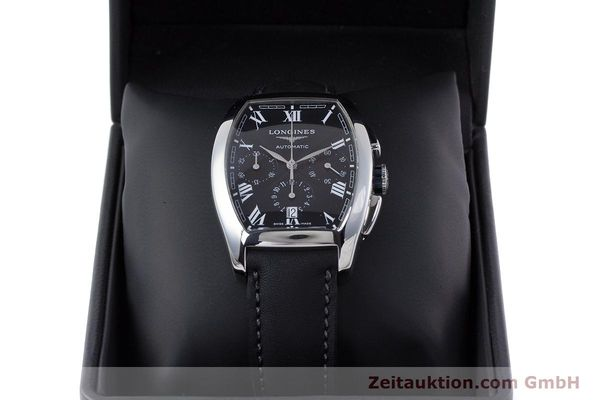 Used luxury watch Longines Evidenza chronograph steel automatic Kal. L650.2 ETA 2894-2 Ref. L2.643.4  | 160540 07