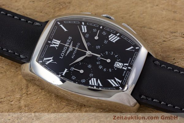 Used luxury watch Longines Evidenza chronograph steel automatic Kal. L650.2 ETA 2894-2 Ref. L2.643.4  | 160540 12