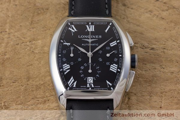 Used luxury watch Longines Evidenza chronograph steel automatic Kal. L650.2 ETA 2894-2 Ref. L2.643.4  | 160540 13