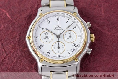 EBEL 1911 CHRONOGRAPH STEEL / GOLD AUTOMATIC KAL. 134 [160541]