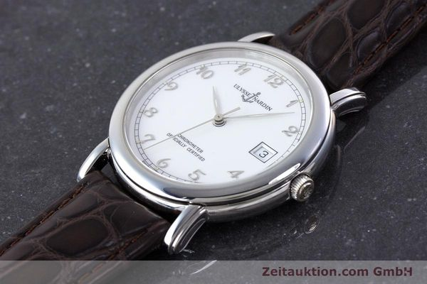 Used luxury watch Ulysse Nardin San Marco steel automatic Kal. ETA 2892-2 Ref. 5481  | 160542 01