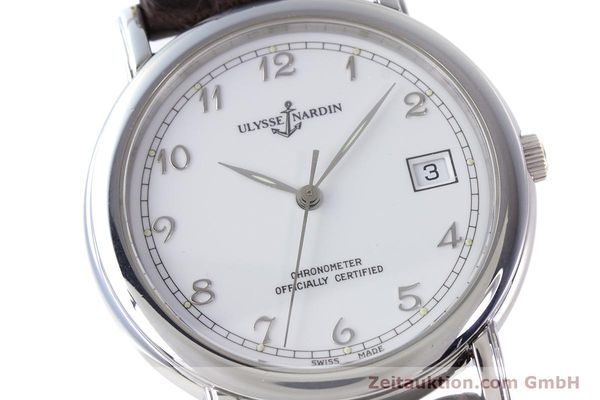 Used luxury watch Ulysse Nardin San Marco steel automatic Kal. ETA 2892-2 Ref. 5481  | 160542 02
