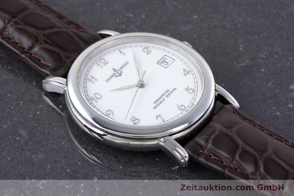 Used luxury watch Ulysse Nardin San Marco steel automatic Kal. ETA 2892-2 Ref. 5481  | 160542 12