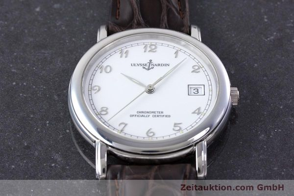 Used luxury watch Ulysse Nardin San Marco steel automatic Kal. ETA 2892-2 Ref. 5481  | 160542 13