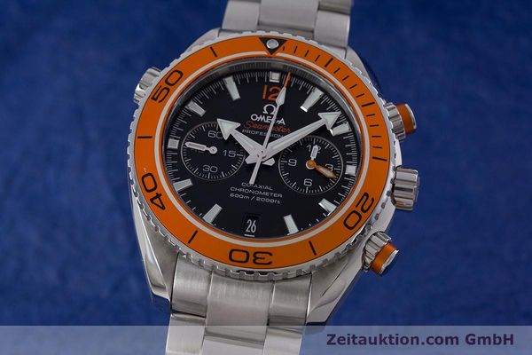 OMEGA SEAMASTER CHRONOGRAPH STEEL AUTOMATIC KAL. 9300 LP: 6500EUR [160546]