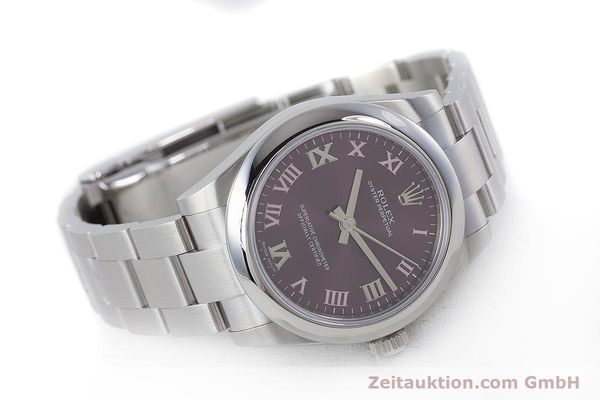 Used luxury watch Rolex Oyster Perpetual steel automatic Ref. 177200  | 160547 03