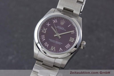 ROLEX LADY OYSTER PERPETUAL 31 STAHL AUTOMATIK DAMENUHR 177200 NP: 4250,- Euro [160547]