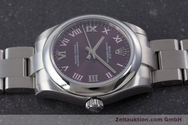 Used luxury watch Rolex Oyster Perpetual steel automatic Ref. 177200  | 160547 05