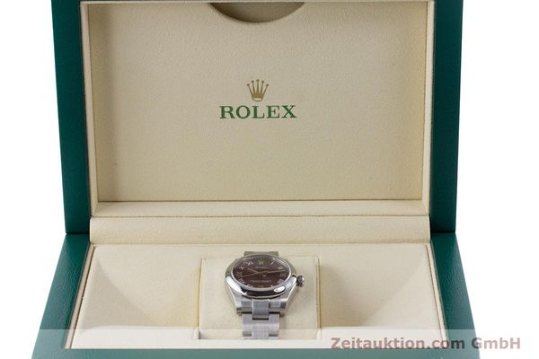 Used luxury watch Rolex Oyster Perpetual steel automatic Ref. 177200  | 160547 07