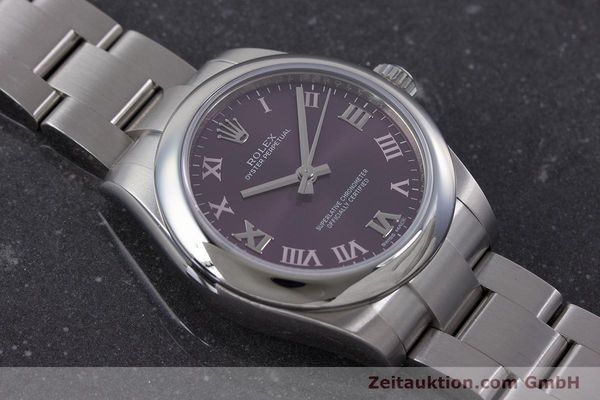 Used luxury watch Rolex Oyster Perpetual steel automatic Ref. 177200  | 160547 15
