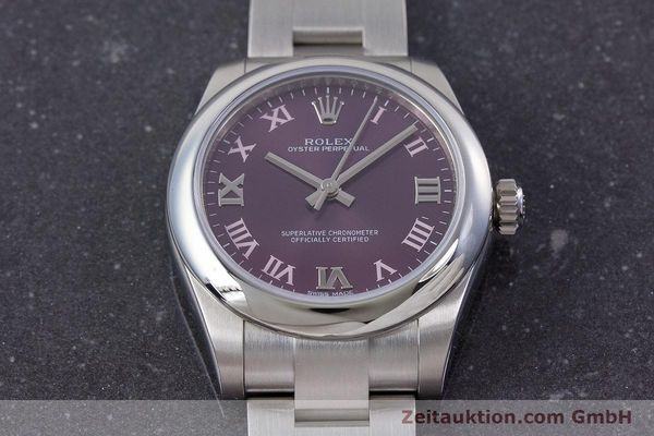 Used luxury watch Rolex Oyster Perpetual steel automatic Ref. 177200  | 160547 16