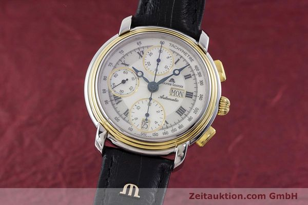 MAURICE LACROIX CRONEO CHRONOGRAPH STEEL / GOLD AUTOMATIC KAL. ML 67 ETA 7750 [160551]