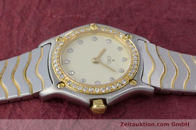 EBEL CLASSIC WAVE STEEL / GOLD QUARTZ KAL. 057 [160552]