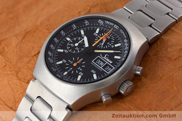 Used luxury watch Sinn 157 chronograph steel automatic Kal. LWO 5100  | 160553 01