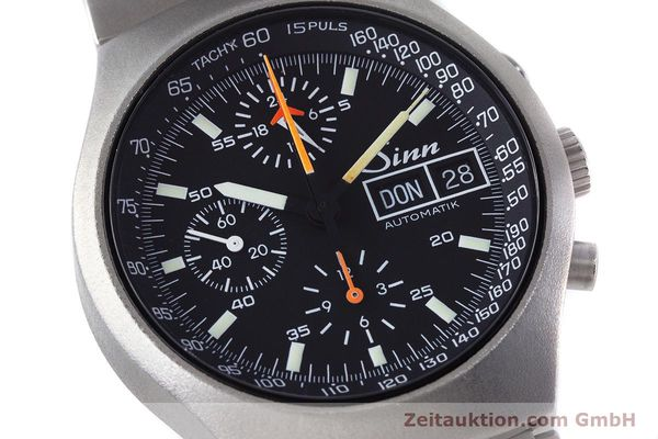 Used luxury watch Sinn 157 chronograph steel automatic Kal. LWO 5100  | 160553 02