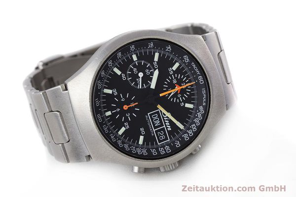 Used luxury watch Sinn 157 chronograph steel automatic Kal. LWO 5100  | 160553 03