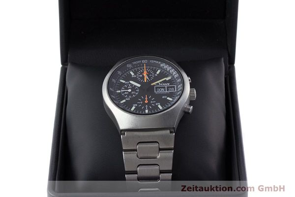 Used luxury watch Sinn 157 chronograph steel automatic Kal. LWO 5100  | 160553 07