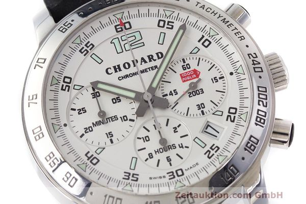 Used luxury watch Chopard Mille Miglia chronograph steel automatic Kal. ETA 2894-2 Ref. 8932 LIMITED EDITION | 160554 02