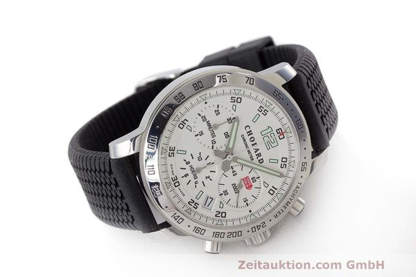 Used luxury watch Chopard Mille Miglia chronograph steel automatic Kal. ETA 2894-2 Ref. 8932 LIMITED EDITION | 160554 03