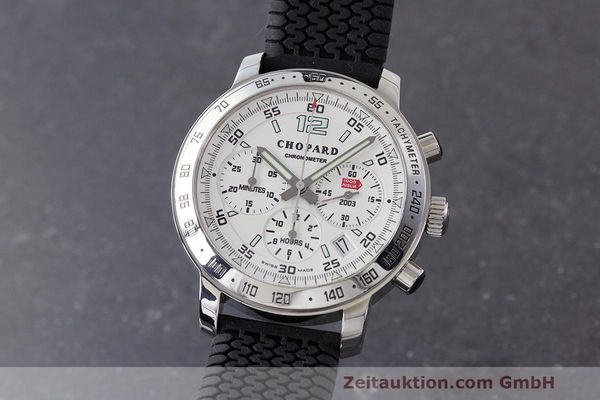 Used luxury watch Chopard Mille Miglia chronograph steel automatic Kal. ETA 2894-2 Ref. 8932 LIMITED EDITION | 160554 04