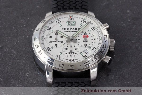 Used luxury watch Chopard Mille Miglia chronograph steel automatic Kal. ETA 2894-2 Ref. 8932 LIMITED EDITION | 160554 15