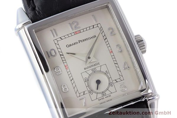 Used luxury watch Girard Perregaux Vintage steel automatic Kal. 3200 Ref. 2593  | 160562 02