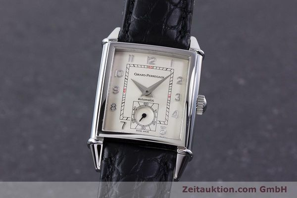 Used luxury watch Girard Perregaux Vintage steel automatic Kal. 3200 Ref. 2593  | 160562 04
