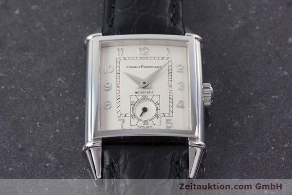 Used luxury watch Girard Perregaux Vintage steel automatic Kal. 3200 Ref. 2593  | 160562 13
