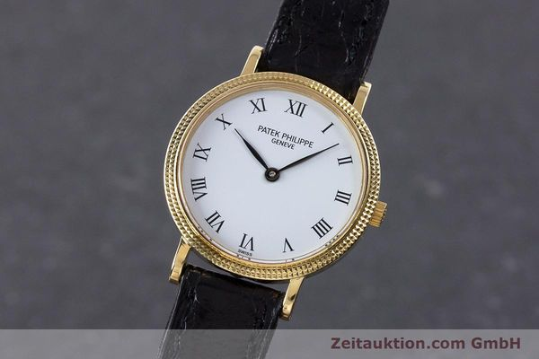 PATEK PHILIPPE CALATRAVA OR 18 CT QUARTZ KAL. E15 LP: 15980EUR [160564]