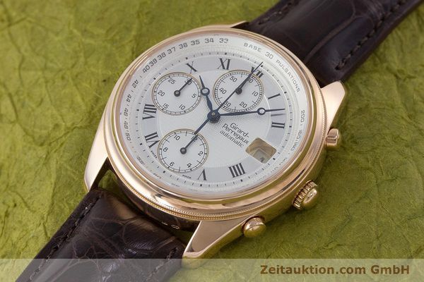 Used luxury watch Girard Perregaux Olimpico chronograph 18 ct gold automatic Kal. 8000-264 Ref. 4910  | 160565 01