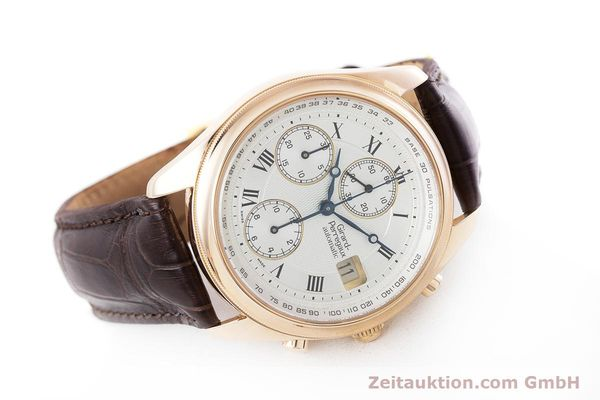 Used luxury watch Girard Perregaux Olimpico chronograph 18 ct gold automatic Kal. 8000-264 Ref. 4910  | 160565 03