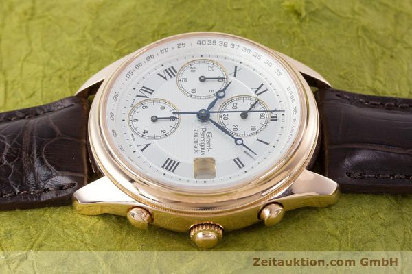 Used luxury watch Girard Perregaux Olimpico chronograph 18 ct gold automatic Kal. 8000-264 Ref. 4910  | 160565 05