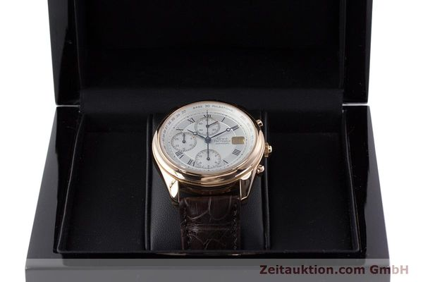 Used luxury watch Girard Perregaux Olimpico chronograph 18 ct gold automatic Kal. 8000-264 Ref. 4910  | 160565 07
