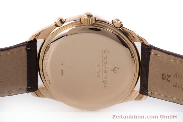 Used luxury watch Girard Perregaux Olimpico chronograph 18 ct gold automatic Kal. 8000-264 Ref. 4910  | 160565 08