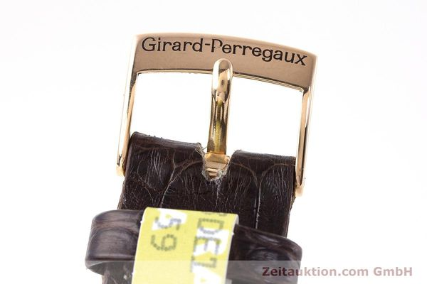 Used luxury watch Girard Perregaux Olimpico chronograph 18 ct gold automatic Kal. 8000-264 Ref. 4910  | 160565 12