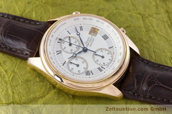 Used luxury watch Girard Perregaux Olimpico chronograph 18 ct gold automatic Kal. 8000-264 Ref. 4910  | 160565 14