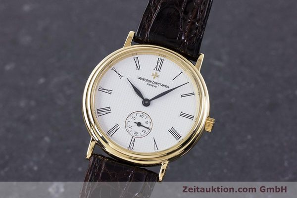 VACHERON & CONSTANTIN 18 CT GOLD MANUAL WINDING KAL. 1014/1 [160566]