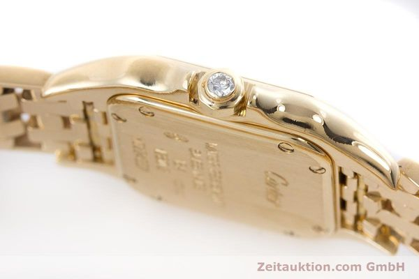 Used luxury watch Cartier Panthere 18 ct gold quartz Kal. 157.06 Ref. 12802   | 160567 08