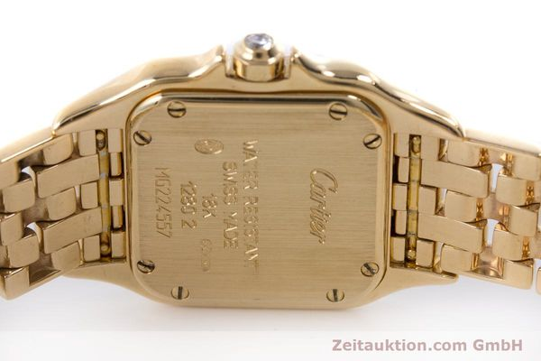 Used luxury watch Cartier Panthere 18 ct gold quartz Kal. 157.06 Ref. 12802   | 160567 09
