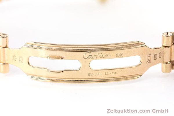 Used luxury watch Cartier Panthere 18 ct gold quartz Kal. 157.06 Ref. 12802   | 160567 11