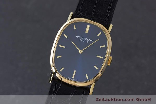 PATEK PHILIPPE ELLIPSE 18 CT GOLD MANUAL WINDING KAL. 215  [160568]