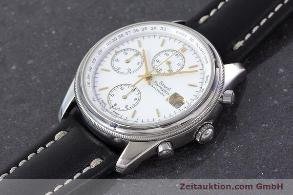 Used luxury watch Girard Perregaux Olimpico chronograph steel automatic Kal. 800-014 Ref. 4900  | 160570 01
