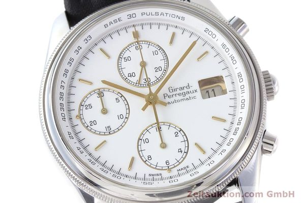 Used luxury watch Girard Perregaux Olimpico chronograph steel automatic Kal. 800-014 Ref. 4900  | 160570 02