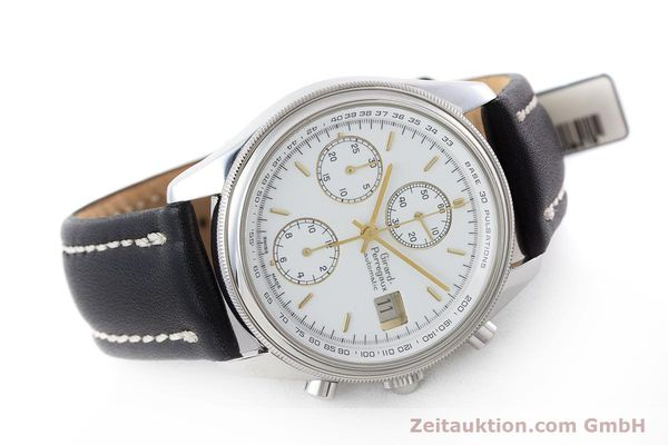 Used luxury watch Girard Perregaux Olimpico chronograph steel automatic Kal. 800-014 Ref. 4900  | 160570 03