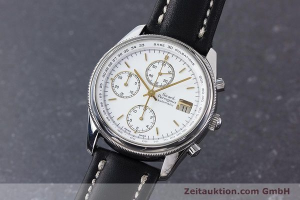 Used luxury watch Girard Perregaux Olimpico chronograph steel automatic Kal. 800-014 Ref. 4900  | 160570 04